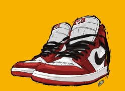 SLAMKICKS JORDAN SERIES By Hazzy