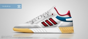 Adidas Original Task Re-Design Handball 1987 By Henoc Monte
