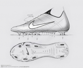 Nike Guante Soccer Boot by Tom Weightman