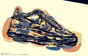Nike Air Force 1 球鞋艺术 By Zoltán Szalay