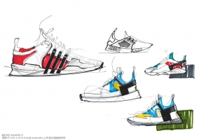 Sneakers Sketchbook By Pauline Streissel