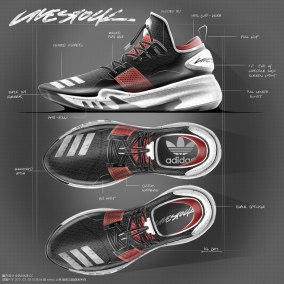 2016 / 2017 Shoes Sketches By Kasey LaCourse